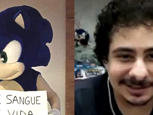 Sonic RJ mostra o rosto, e dublará Sonic em Sonic Adventure / SADX no projeto feito por fãs.