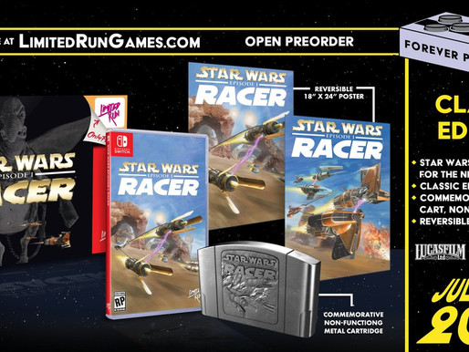 Star Wars Episódio I: Racer ganhará versão fisica no Switch