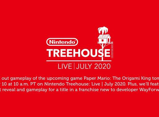 Nintendo Treehouse é anunciado para amanhã, dia 10 de Julho
