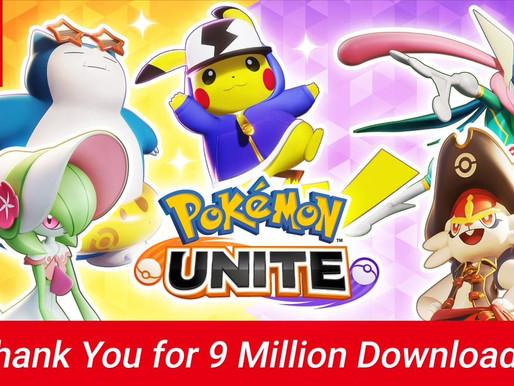 Pokémon Unite ultrapassa nove milhões de downloads