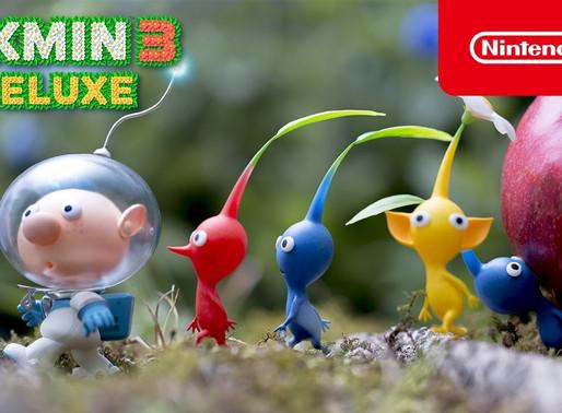 "Pikmin 3 Deluxe - trailer ""Conheça o Pikmin"""