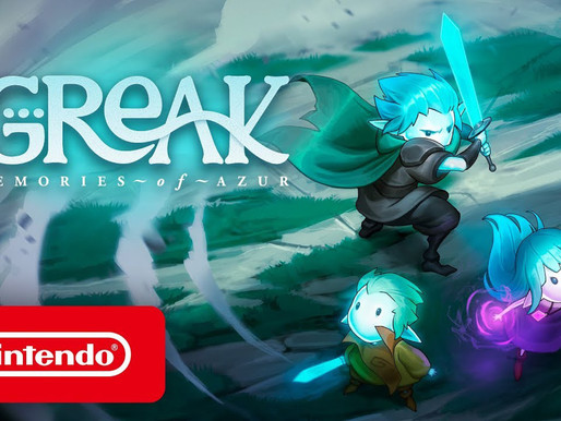 Greak - Memories of Azur chega hoje ao Switch e ganha trailer de lançamento