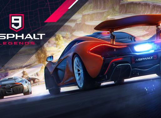 """Asphalt 9 está dando 3 carros e dinheiro """"in-game"""" aos jogadores de forma gratuita nesta quarentena"""