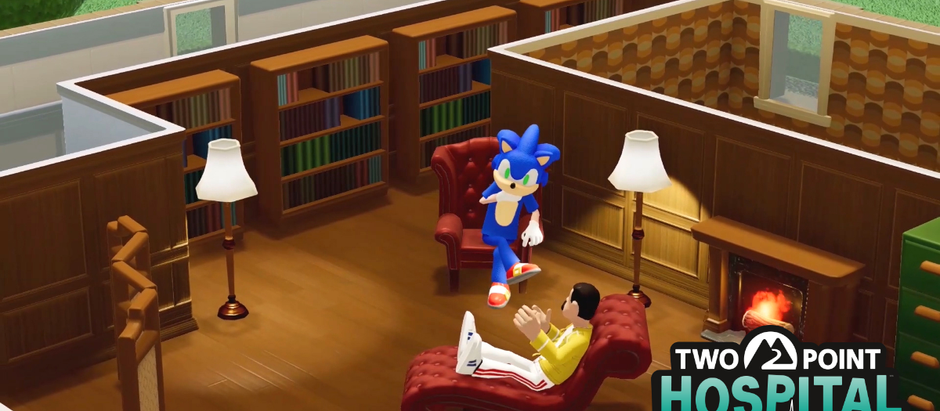 Crossover: Sonic se une a Two Point Hospital
