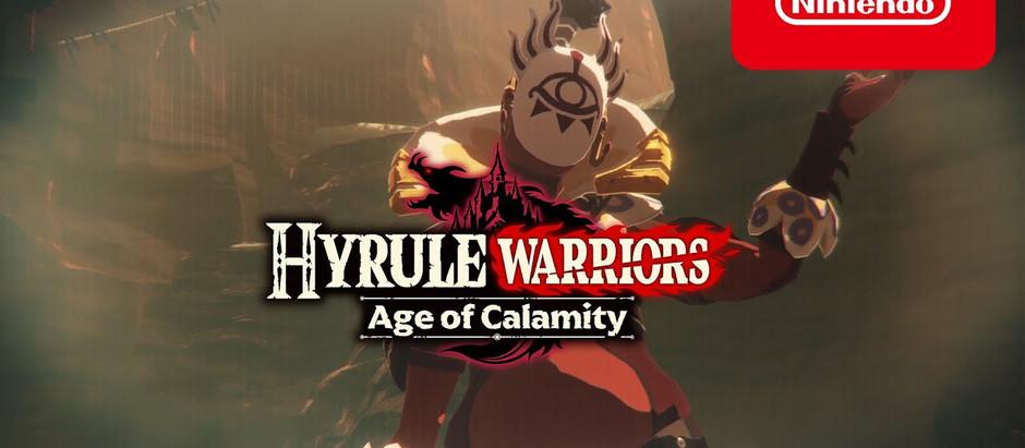Novo trailer de Hyrule Warriors: Age of Calamity pode ter revelado uma grande surpresa