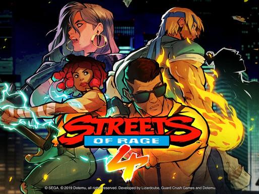 Streets of Rage 4 ganha novo vídeo sobre seu novo visual