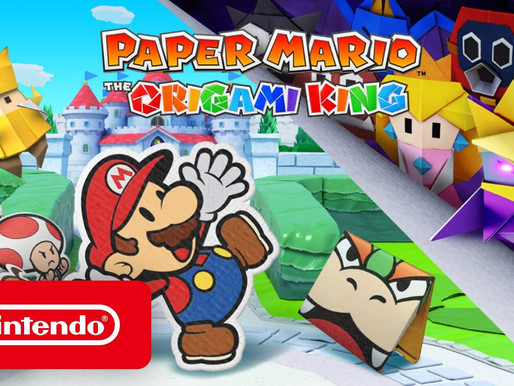 Paper Mario: The Origami King é anunciado para Nintendo Switch