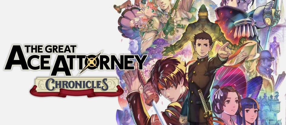 The Great Ace Attorney ™ Chronicles convoca jogadores para o tribunal a partir de hoje