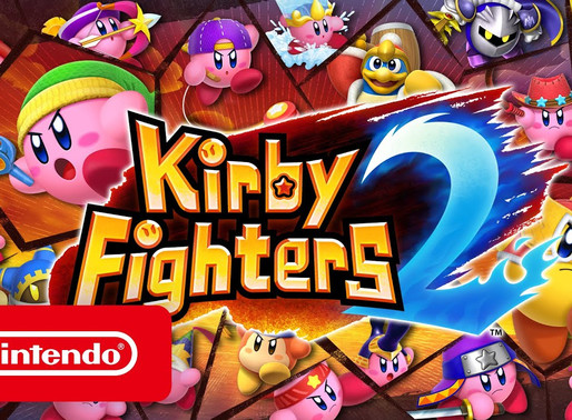 Nintendo lança Kirby Fighters 2 de surpresa no Switch