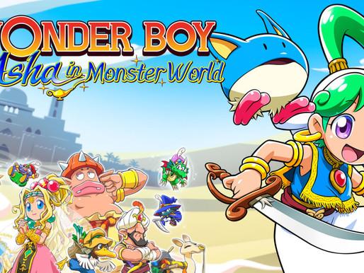 [Review] Wonder Boy - Asha in Monster World para Nintendo Switch