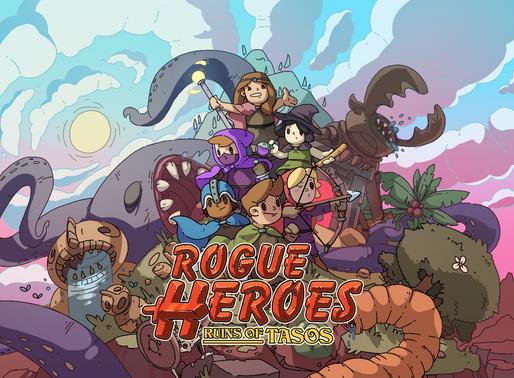 Rogue Heroes: Ruins of Tasos Chegando ao Nintendo Switch neste verão!