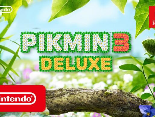 Confira o gameplay de Pikmin 3 Deluxe direto da Nintendo Treehouse