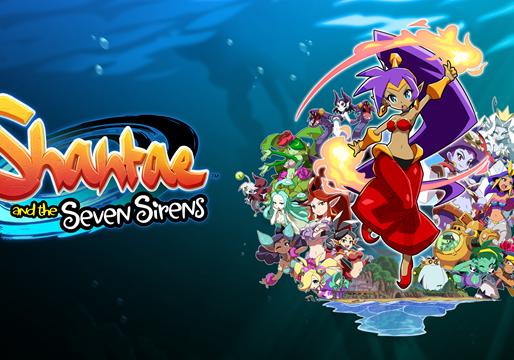 Shantae and the Seven Sirens deve chegar dia 28 de maio no Nintendo Switch