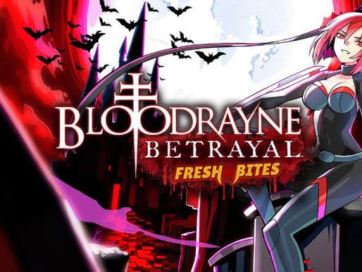 BloodRayne Betrayal: Fresh Bites chega ao Nintendo Switch hoje