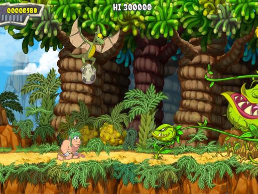 Joe & Mac: Caveman Ninja remake é anunciado