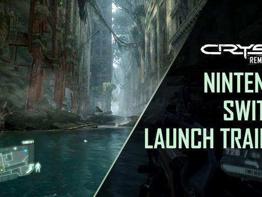 Crysis Remastered Trilogy ganha trailer para Nintendo Switch
