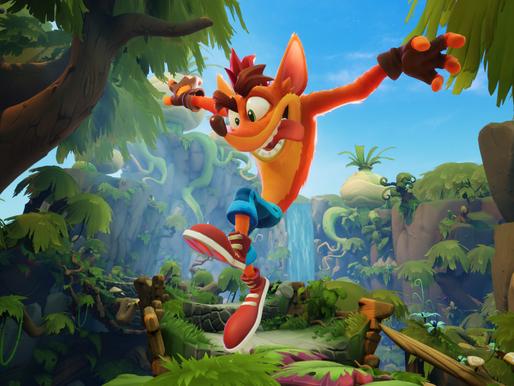 Crash Bandicoot celebra 25 anos de diversão insana