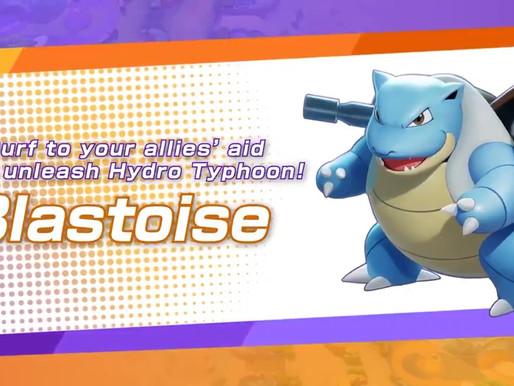 Pokémon Unite revela Blastoise em novo trailer