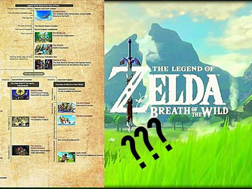 Zelda BotW não está em nenhuma linha do tempo