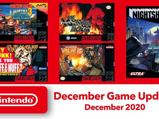 Nintendo Revela DKC 3 e os Próximos jogos grátis de NES e SNES para o Nintendo Switch Online