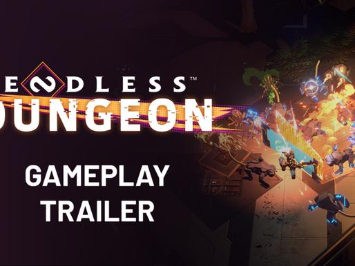 SEGA Revela revela primeiro trailer de gameplay de Endless™ Dungeon
