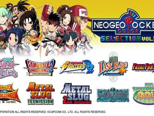 NEOGEO Pocket Color Selection Vol.1 está em promoção e apresenta 10 títulos matadores de NGPC