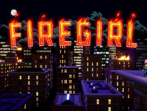 Jogo de Plataforma de Ação e Resgate Firegirl anunciado durante o Guerilla Collective
