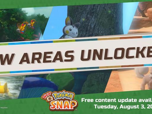 Atualização gratuita de New Pokémon Snap é anunciada