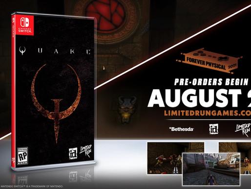 """Quake já disponível e ganhará lançamento físico no Switch,  """"Deluxe Edition"""" e """"Ultimate Edition"""""""