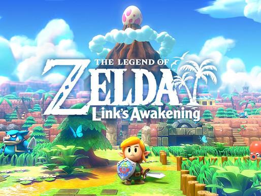 Zelda: Link's Awakening novo gameplay