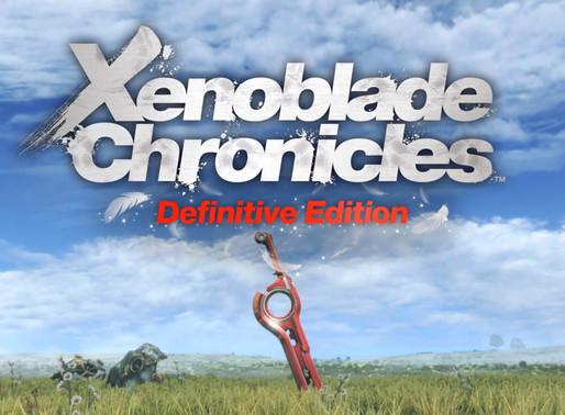 Xenoblade Chronicles Definitive Edition é anunciado para Nintendo Switch