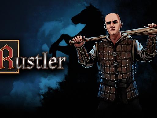 Cometa muitos crimes medievais em Rustler , já disponível
