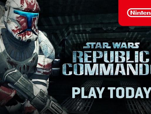 STAR WARS Republic Commando ganha nova atualização(1.0.2) para Nintendo Switch