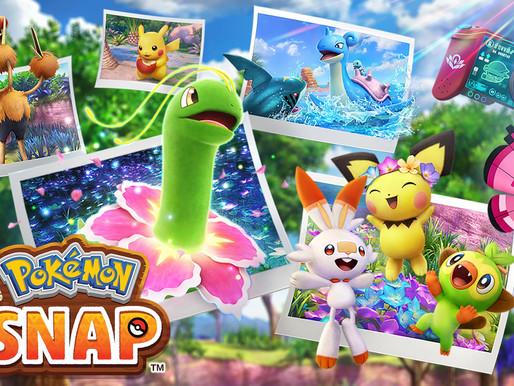 Novo site do Pokémon Snap 'Explore a região Lental' oferece recompensas digitais e interações