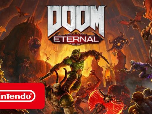 Doom Eternal será lançado para Switch em 8 de dezembro, Veja o primeiro trailer(Atualizado)
