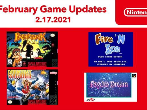 Nintendo Switch Online recebe mais 4 jogos clássicos
