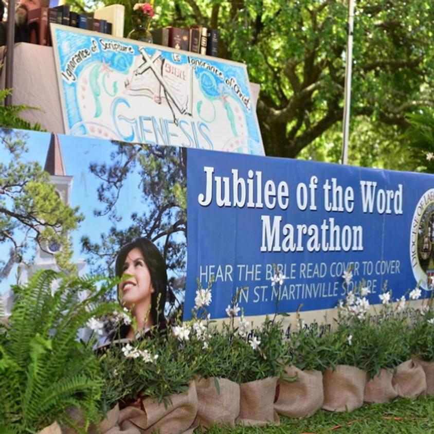Jubilee of the Word Marathon