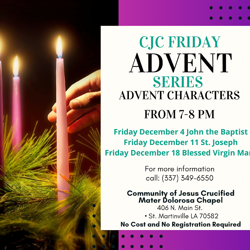 Friday Advent Series