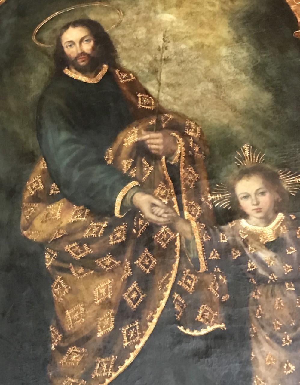 Divine Child Jesus with St. Joseph