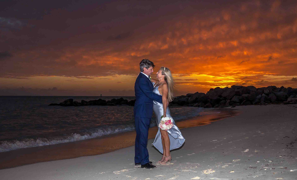 Fort Zachary Taylor Sunset Wedding
