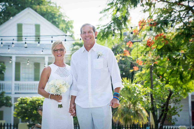 Key West  Lighthouse Weddings