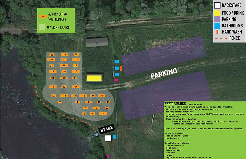 Daydream Farm Site Plan - Patron Version