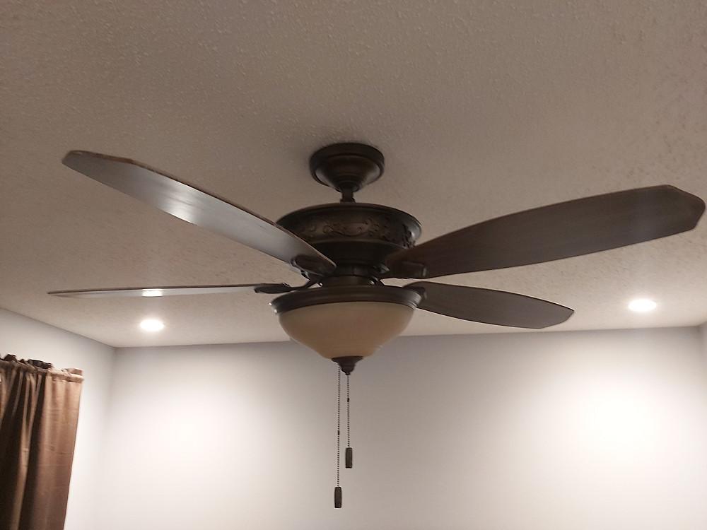 Old 5 blade ceiling fan