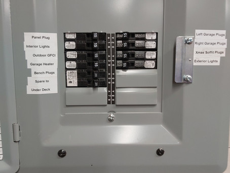 How to Label Your Electrical Panel - The Easy Way