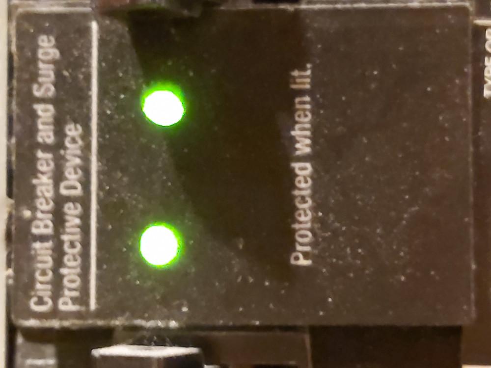 circuit breaker surge protector