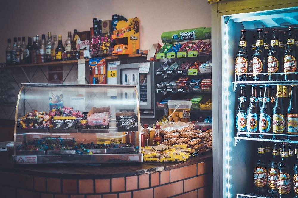 home cinema snack bar