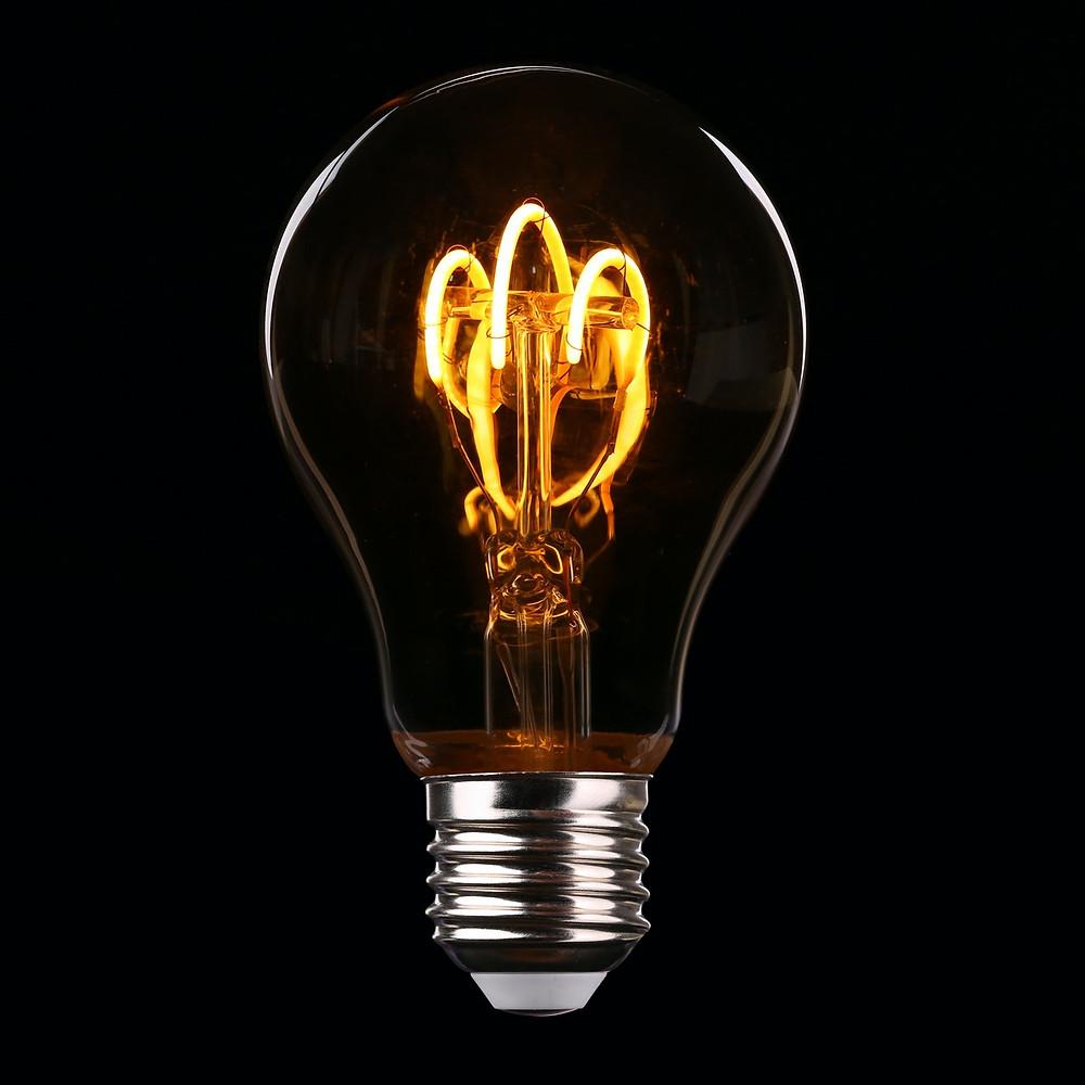LED traditional light bulb