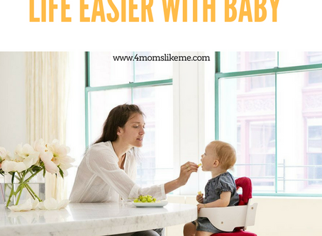 5 Must-Have's for Moms That Make Life Easier With Baby