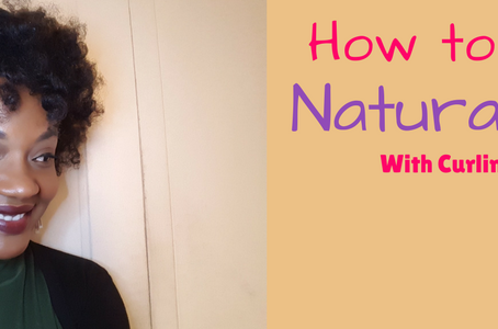 How to Style Natural 4B/4C Hair With Curling Rods