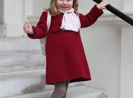 Get Princess Charlotte's Red Winter Look!